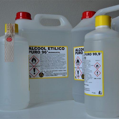 Alcool etilico puro